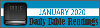 Daily Bible Readings for January 2019