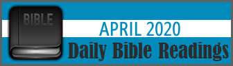 Daily Bible Readings for April 2019