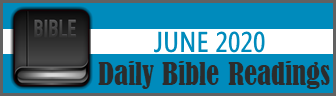 Daily Bible Readings for June 2019