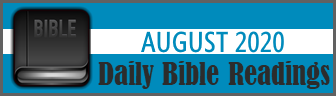 Daily Bible Readings for August 2019